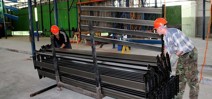 металлические стеллажи от производителя