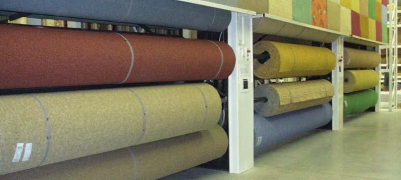 стеллажи для ковров