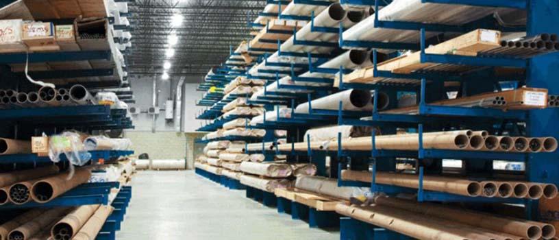 консольные стеллажи, ,складские металлические стеллажи, металлические складские стеллажи
