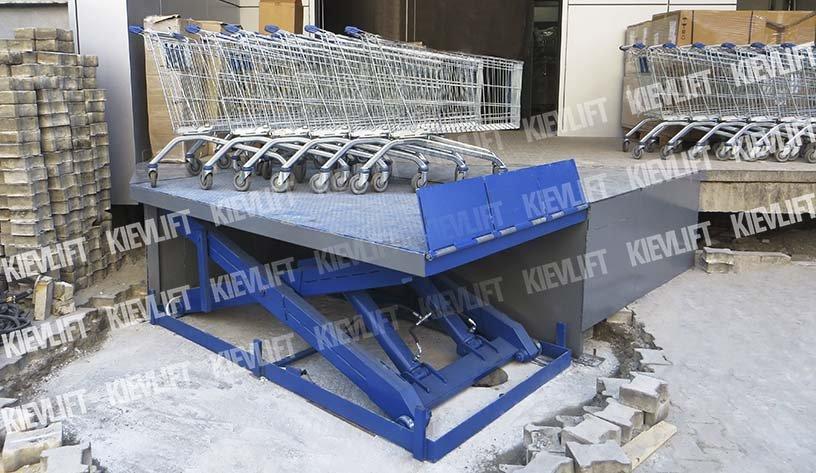 подъемник грузовой для магазина