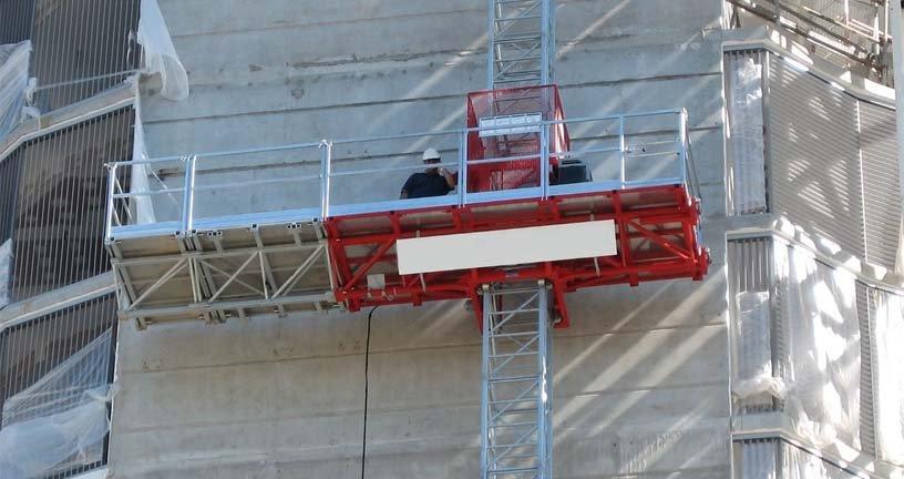 подъемник мачтовый строительный, подъемник электрический строительный, фасадный подъемник строительный