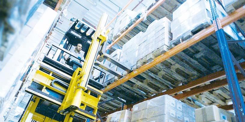 хранение товаров на высоте