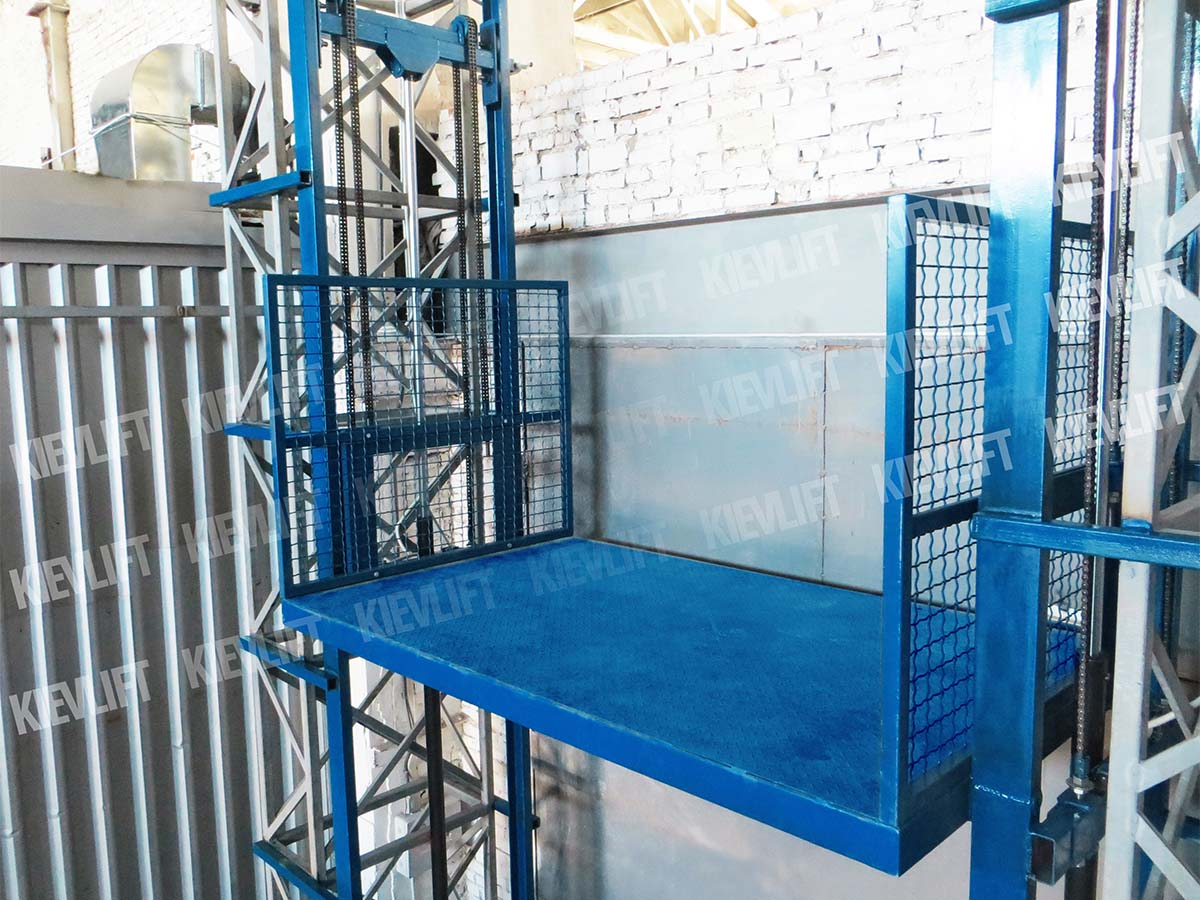 грузовые лифты и подъемники
