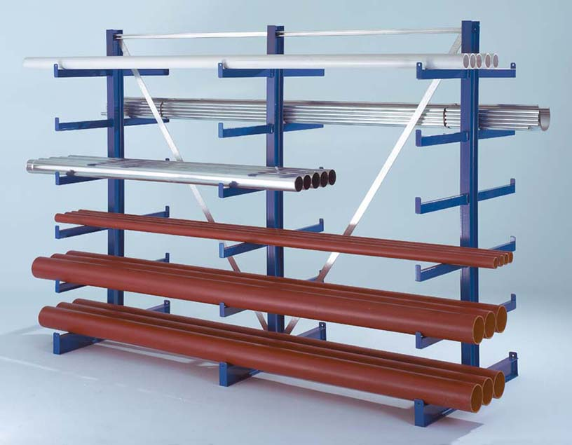 стелажі для зберігання металопрокату