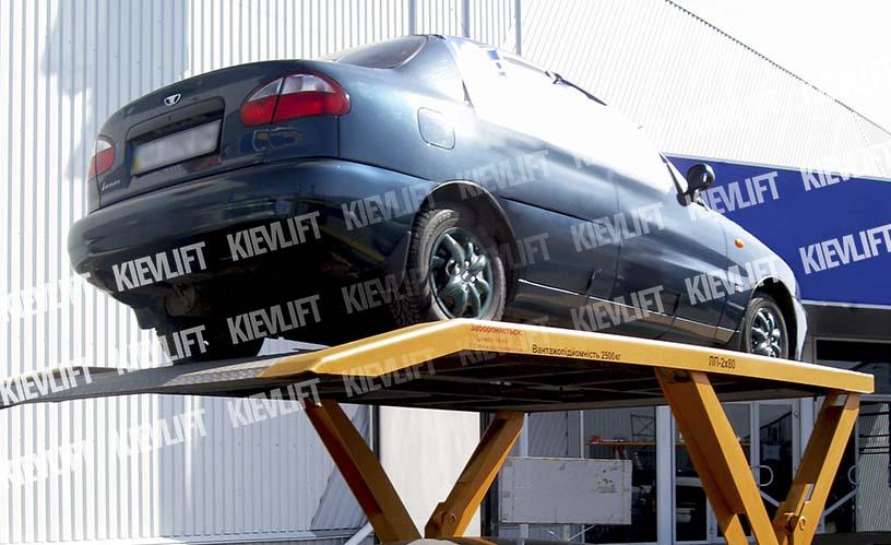 гідравлічний підйомник для гаражу