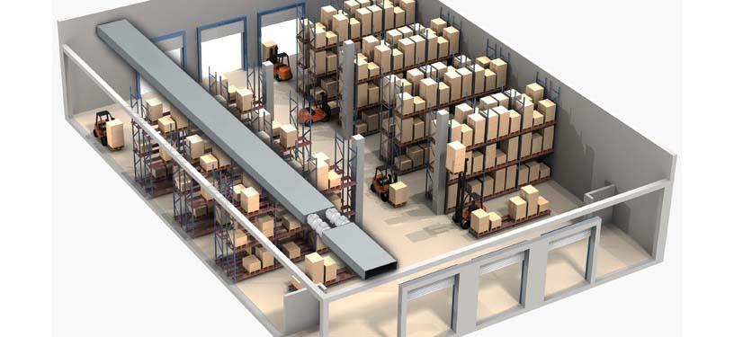 організація складського приміщення
