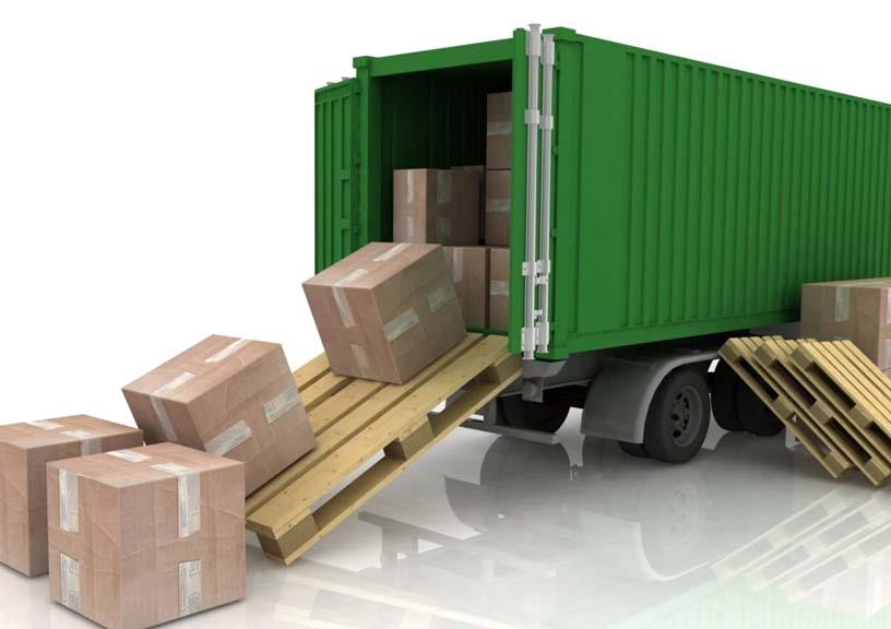 відвантаження вантажів