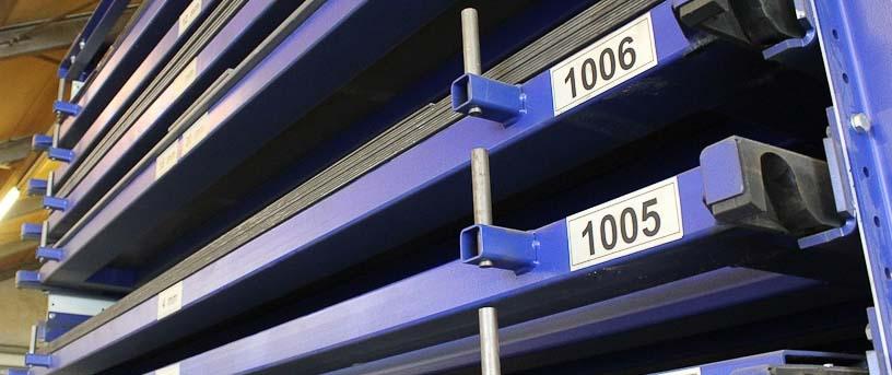 стелажі для металопрокату