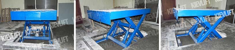 гідравлічний підіймальний стіл