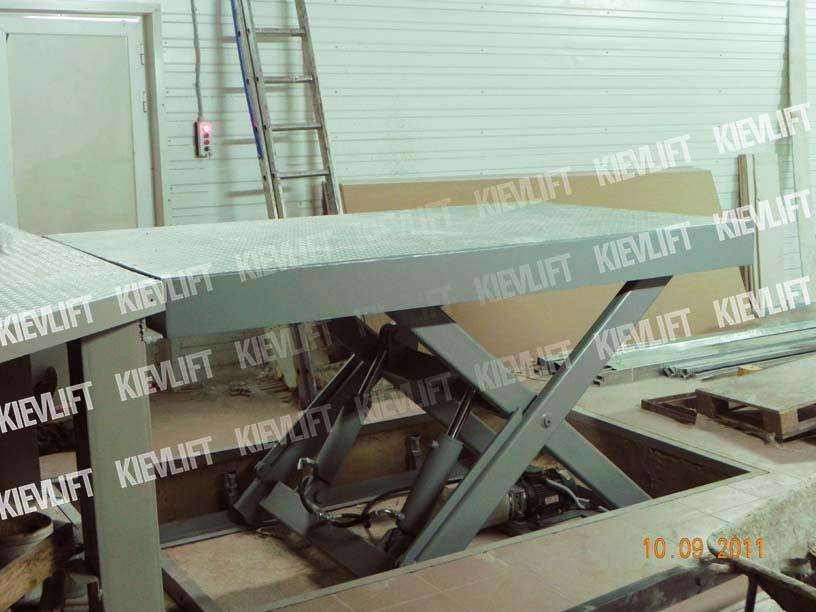 подъемные столы гидравлические
