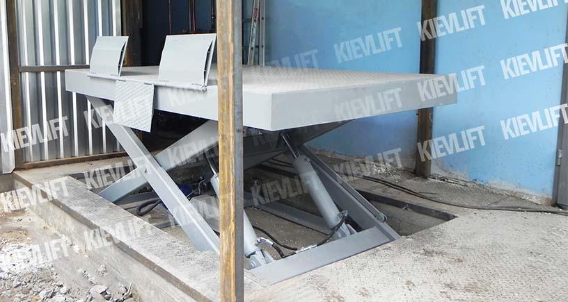 ножничный стол