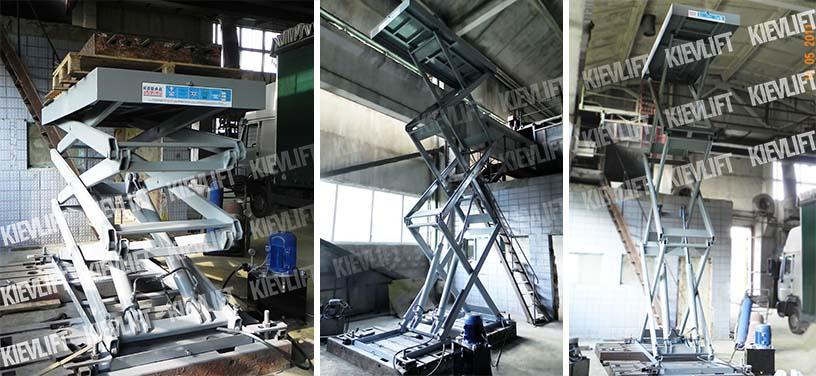 вантажні ліфти-підйомники